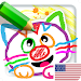 Drawing for Kids Learning Games for Toddlers age 2 Icon