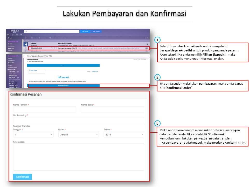 Cara Belanja Jakarta Bubble
