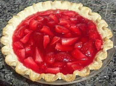 Strawberry Spring Pie