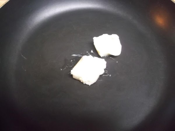 Melt 2 tablespoons of the butter in nonstick or cast iron skillet over medium/medium...