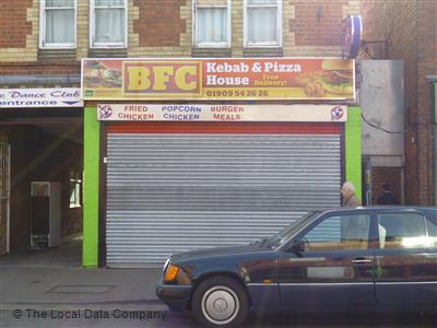 Bfc On Ryton Street Fast Food Takeaway In Worksop S80 2au