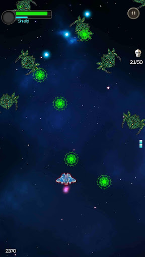 Space Shooter - Galactic War  captures d'écran 4