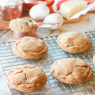 Soft & Chewy Ginger Snap Cookie Recipe