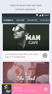 Spreaker Podcast Radio- screenshot thumbnail