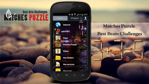 Matches Puzzle smart challenge
