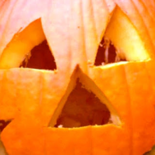 Pumpkin Soup In A Pumpkin Tureen With A Healthy Twist