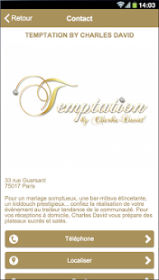 Temptation Traiteur- screenshot thumbnail