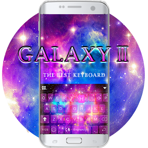 Galaxy2 Starry Keyboard Themes Icon