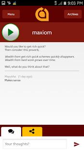 maxiom screenshot