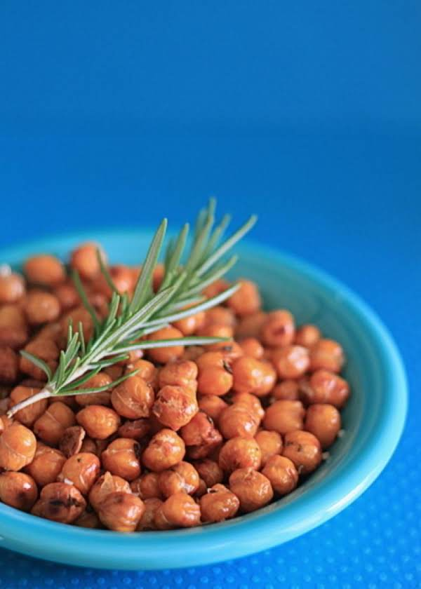 Roasted Chickpeas Or Garbanzo Beans Recipe