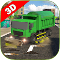 Sweeper Truck: City Roads icon