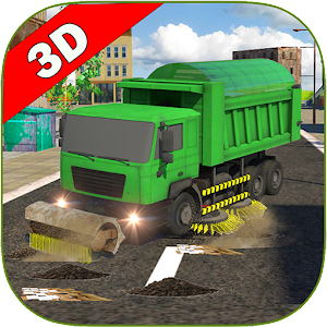 Sweeper Truck: City Roads for PC and MAC