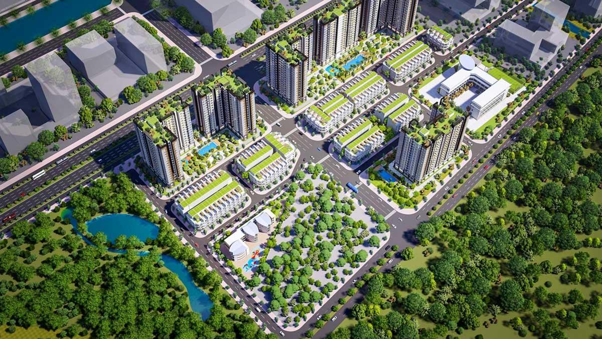Dự án xanh ngay bên trong lòng thành phố