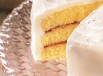 Kit's Yellow Cake...
