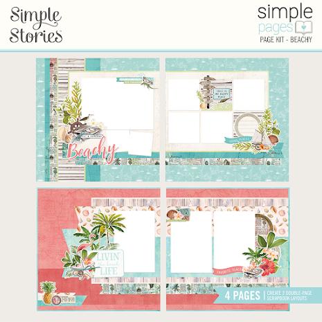 Simple Stories Simple Page Kit - SV Coastal