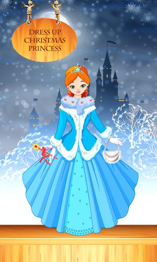 装扮圣诞公主