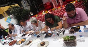 Los jueces puntuaron tanto el sabor como la presentación de los platos.