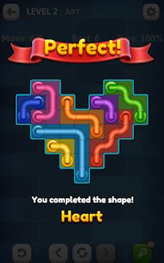 Line Puzzle: Pipe Artのおすすめ画像4