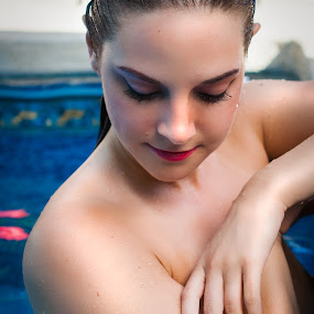 Lady in the Water by Brian Brown - Nudes & Boudoir Artistic Nude