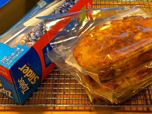 Place cooled French Toast (1 slice per bag) of in a heavy-duty freezer bag...