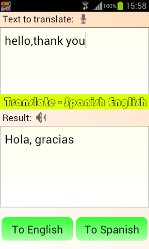 Translate - Spanish English 4.1.9 screenshots 3