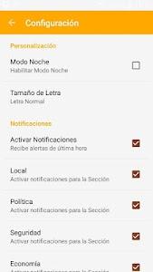 Diario Correo del Sur screenshot 1