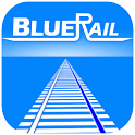 BlueRail Trains icon