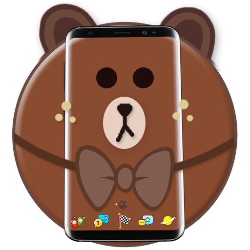 Brown Bear Cartoon Theme