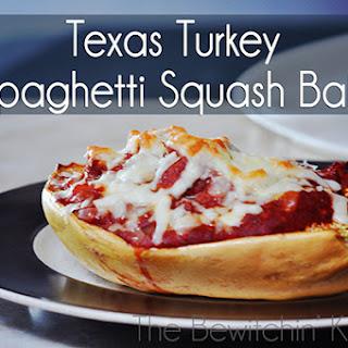Texas Turkey Spaghetti Squash Bake