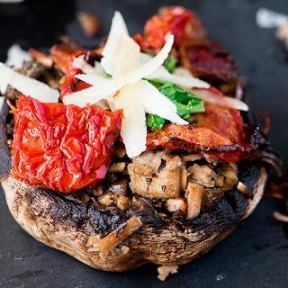 STUFFED MUSHROOMS RECIPE ( BAKED)