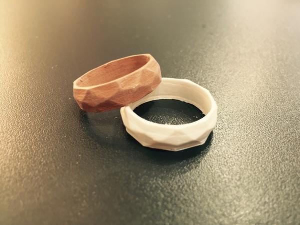 3D Print Soften 3D модель - Кольцо