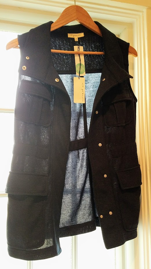 Stitch Fix Review Fall 2017, Current Air Maebeline Knit Cargo Vest