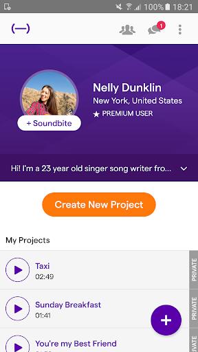 Soundtrap - Make Music Online 1.9.6 screenshots 2