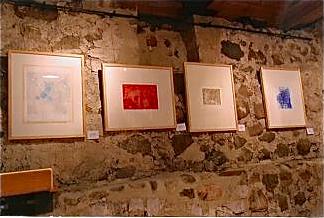 Photo: FarbRadierungen in der Klostergalerie