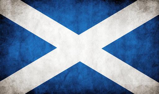 Scotland Flag Live Wallpaper