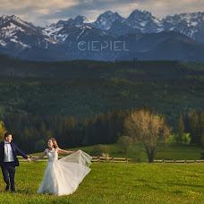 Wedding photographer Grzegorz Ciepiel (ciepiel). Photo of 01.06.2017