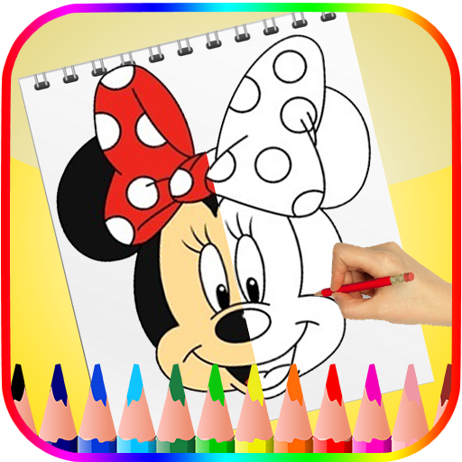 How to Draw Mickey Mouse Easy Step