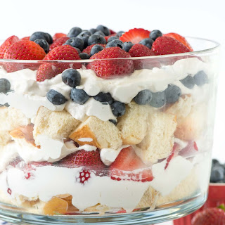 No Bake Berry Shortcake Trifle