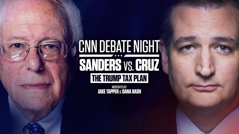Watch Debate Night: The GOP Tax Plan: Ted Cruz vs. Bernie Sanders live
