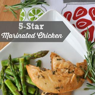5-star Marinated Chicken.