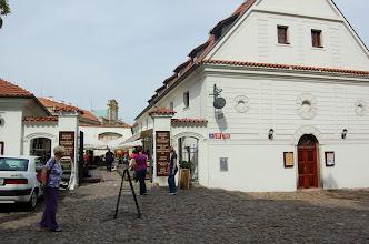 Photo: ... en het terras van de kloosterbrouwerij.