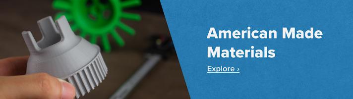 American-Made 3D Printer Materials
