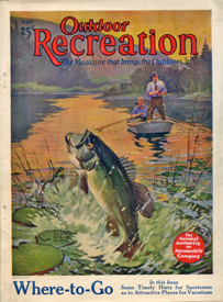 Dave richey outdoors old outdoor magazines remind us of for Bass fishing magazine