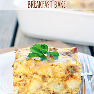 Tater Tot Breakfast Recipes.