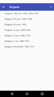 Silver Coin Database - náhled