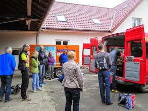Photo: Da am Freitag bereits die Räder verladen wurden, muss jetzt nur noch das pers. Gepäck verstaut werden...