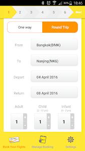 NokScoot Airlines screenshot 1