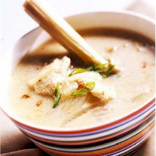 Lemongrass Coconut Chicken Soup.