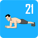 Plank Workout - 21 Day Plank Challenge Free icon
