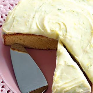 White Chocolate Cake.